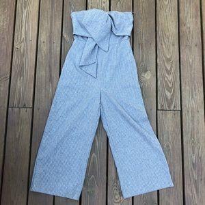 Size Large Pinstripe Jumpsuit